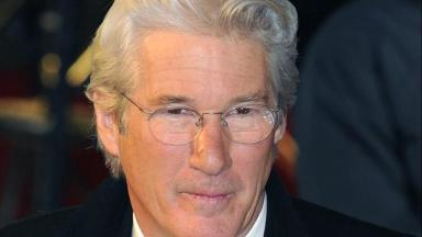 Richard Gere: Will attend UK premiere of his latest film in Glasgow.