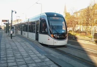 Edinburgh Trams: Service expected to reopen later on Friday (file pic).