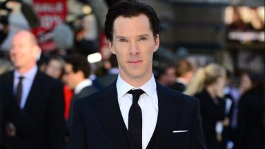 Fiming: Benedict Cumberbatch has been spotted on set.