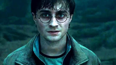 Star: Daniel Radcliffe as Harry Potter.