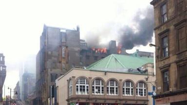 Glasgow school of art fire UGC image May 23 2014