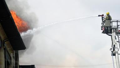 Glasgow Art School fire, May 23 2014