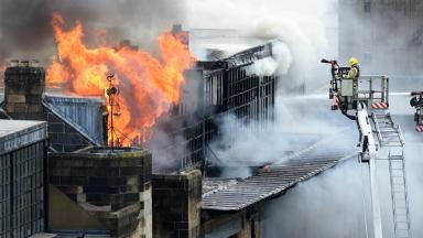 May 2014: The fire shocked the art world.