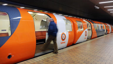 Glasgow: The Subway system was suspended.
