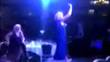 Scottish hair and beauty awards video grab of incident at Thistle hotel Glasgow June 2 2014 Screen grab from UGC video permission given