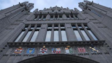 Marischal College: Aberdeen Council headquarters.