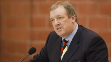 Former Rangers owner Sir David Murray.