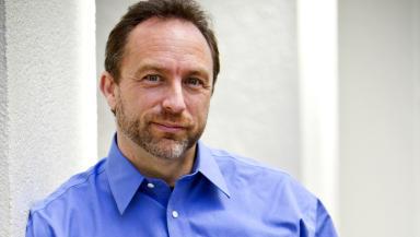 Jimmy Wales by Lane Hartwell on behalf of Wikimedia Foundation