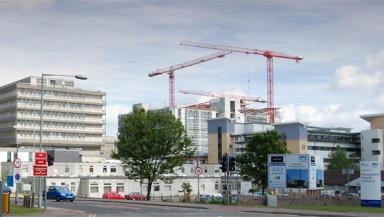 Forresterhill Campus: Aberdeen Royal Infirmary