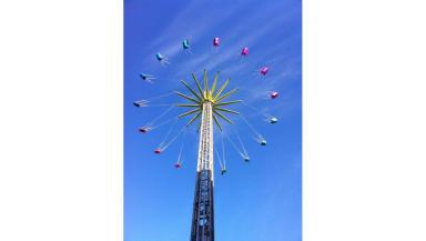 The Edinburgh Star Flyer attraction.