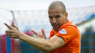 Farid El Alagui, Dundee United, May 2014.