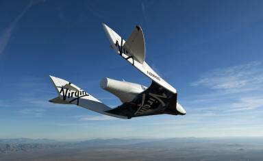 Virgin Spacecraft: Richard Branson could use the UK spaceport.
