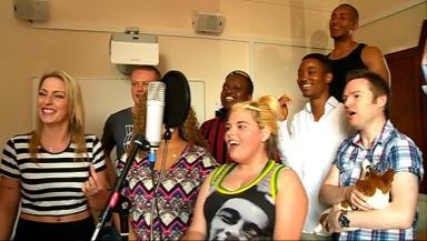 Tollcross singers July 15, 2014