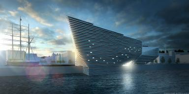 V&A: The new £80m museum in Dundee.