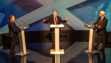 STV Debate 6 Alex Salmond Alistair Darling August 5, 2014.