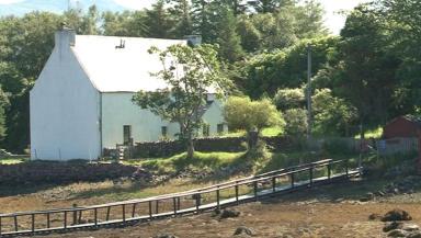 Islonia island on Loch Gairloch kingdom uploaded August 15 2014