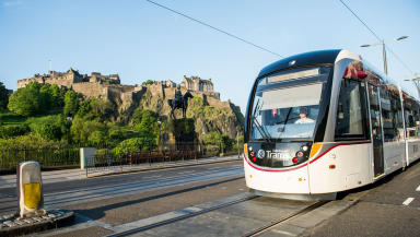 Edinburgh Trams: Lawyer challenged Donald Anderson's claims.