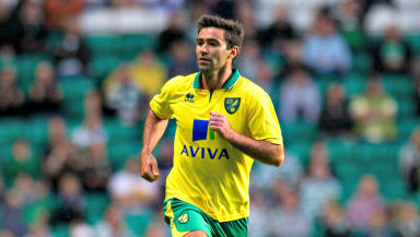 New St Johnstone signing Simon Lappin in his Norwich City days.