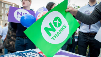 Referendum: Scotland voted to stay in the UK in a landmark referendum in 2014.