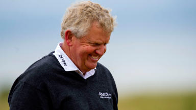 Montgomerie claimed his seventh senior title.