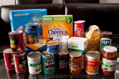 Food bank: Tens of thousands are going hungry in Scotland.