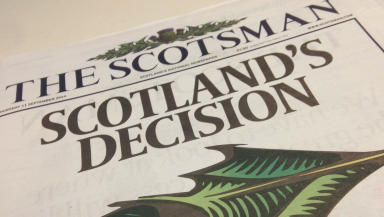 The Scotsman: Comes after months of speculation.