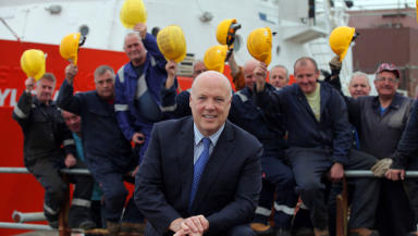 Jim McColl saved the shipyard from closure in 2014.