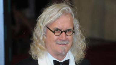 Billy Connolly: Finds it hard to perform in home city.