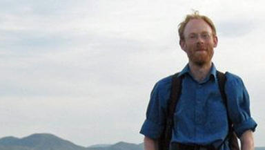 Fergus McInnes missing from Edinburgh after going to a conference in Geneva, Switzerland.