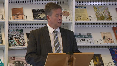 Keith Brown SNP Deputy leadership bid launch September 25 2014