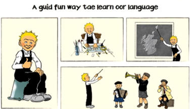 Oor Wullie Scots language education October 8 2014