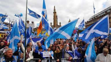 Rally: Sturgeon will address pro-independence supporters.