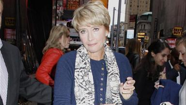 Emma Thompson: 'The time for homophobia is long gone' (file pic).