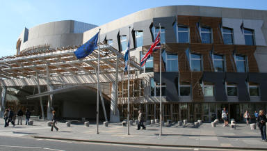Scottish Parliament: Security measures in place against cyber attack.