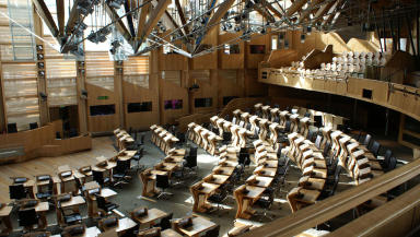 Holyrood: Minister says tax changes will boost NHS investment.