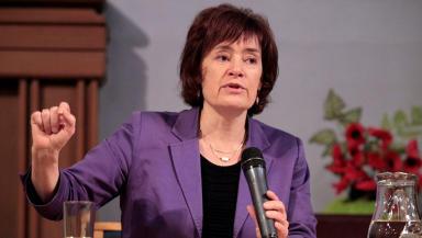 Sarah Boyack MSP Scottish Labour leadership campaign launch in Edinburgh November 7 2014