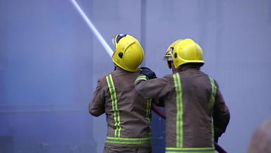 Kitchen fire: Firefighters were killed to property in Ferryhill (file pic).