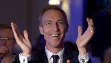 Jim Murphy: Quality image of Scottish Labour MP at Better Together party