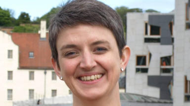 Maggie Chapman, co-convener of the Scottish Green Party and rector of University of Aberdeen.