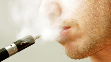 Policy: NHS Greater Glasgow and Clyde to allow e-cigarettes on grounds.