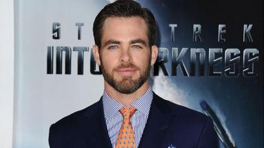 Chris Pine: Filmed Outlaw King in Glasgow.