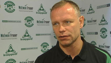 Don't go: Hughes wants Ian Murray to stay at Easter Road