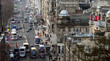 Princes Street: Food outlets could be coming.