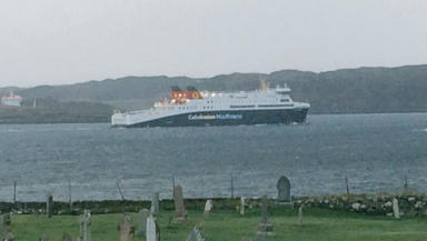 MV Loch Seaforth: The ferry collided with a pier.