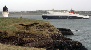 Loch Seaforth: Ferry became stranded after power outage (file pic).