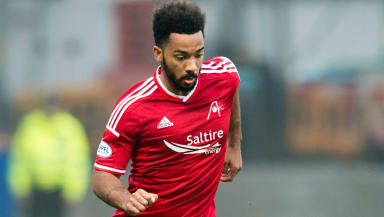 Commitment: Shay Logan joined Aberdeen in January 2014.