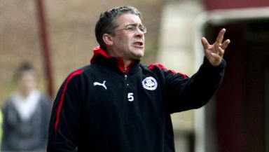 Ian McCall is the new manager of Ayr United.