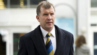 Scottish FA chief executive Stewart Regan.