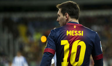 Lionel Messi will line-up for Barcelona.