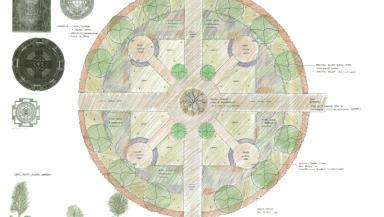 Potential design of Mortonhall memorial.